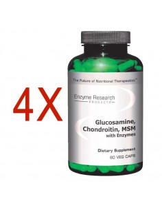 Glucosamine Chondroitin MSM Plus™ with MSM and Collagen - Buy 3 Get 1 FREE