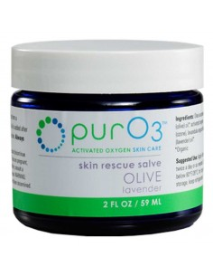 PurO3 Ozonated Organic Olive Oil Lavender